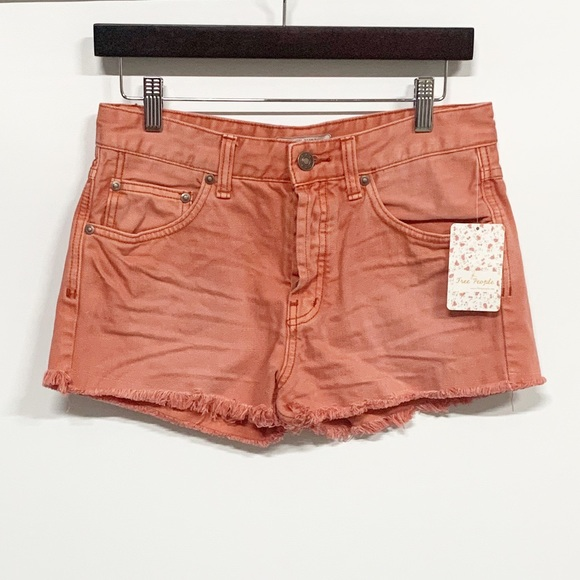Free People Pants - Free People Poppy Highwaisted Buttonfly Shorts NWT